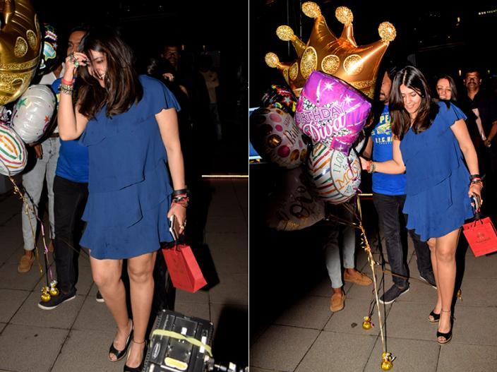 In pics: ekta kapoor celebrates her with Tusshar, Jeetendra and Shobha Kapoor |