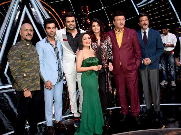 Fanney Khan Promotions: anil kapoor, aishwarya rai bachchan and rajkummar rao on the sets of Indian Idol at Yash Raj Studio in Andheri |