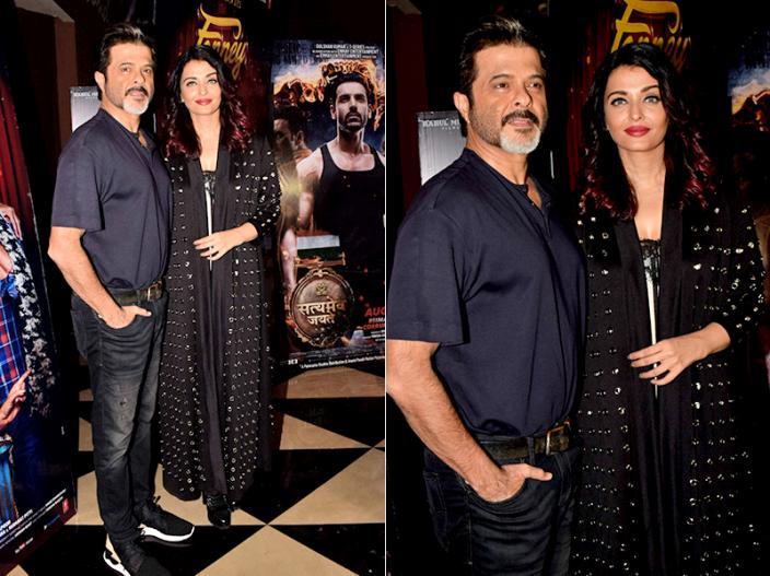 Fanney Khan screening Pics: Anil kapoor, Aishwarya Rai Bachchan and movie starcast Attend the Screening |