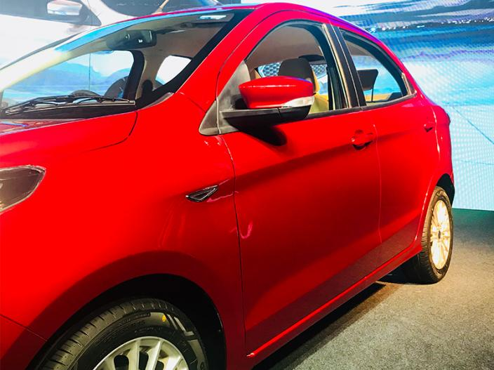 2018 Ford Aspire Launched in India, See Features In Photos |