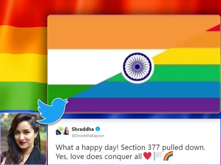 Bollywood Stars Reacts SC Judgement on LGBT, Ranveer singh, Karan johar, Alia Bhatt, Akshay Kumar, Arjun kapoor Other B-Town Stars Tweets Over the SC Judgement |
