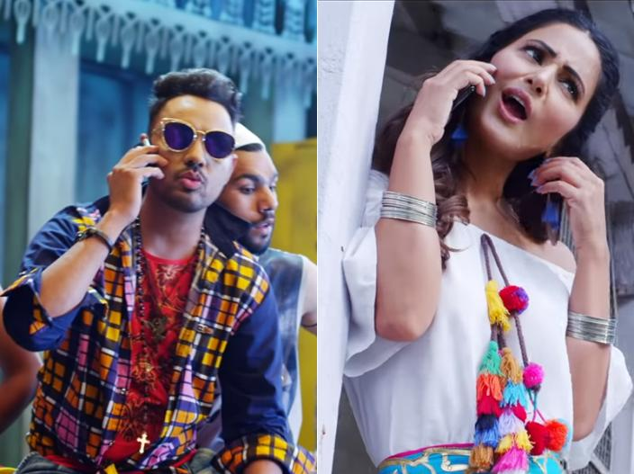 Hina Khan's latest BHASOODI Song has killer hot moves with Sonu Thukral, trending on Youtube |