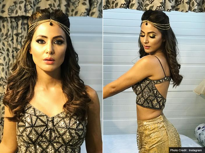 Bigg boss 11 contestant Hina khan share her bold, hot and sensational photos on Instagram |