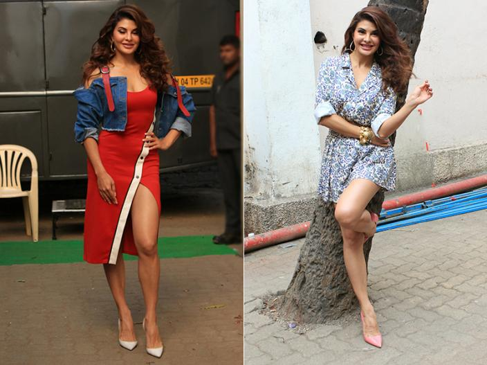 Jacqueline Fernandez bold look during the promotion of Race 3 Her Upcoming Movie |