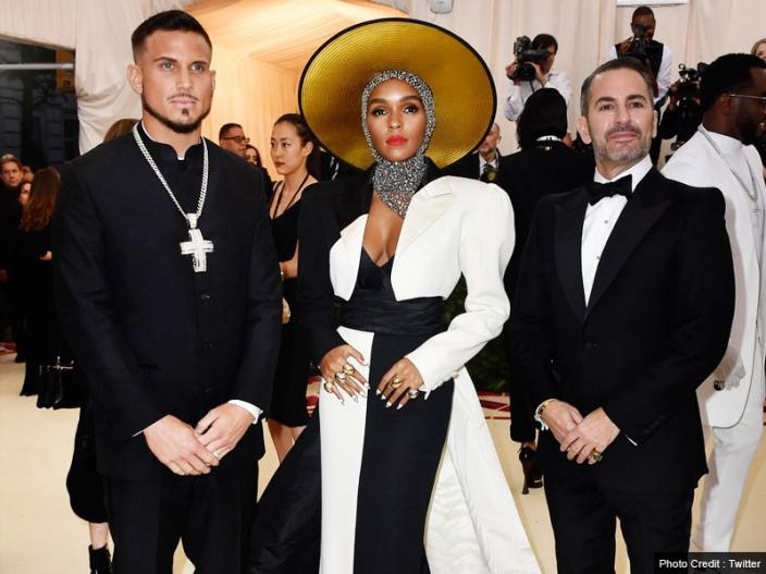 Janelle Monáe, Cindi and Marc Jacobs |