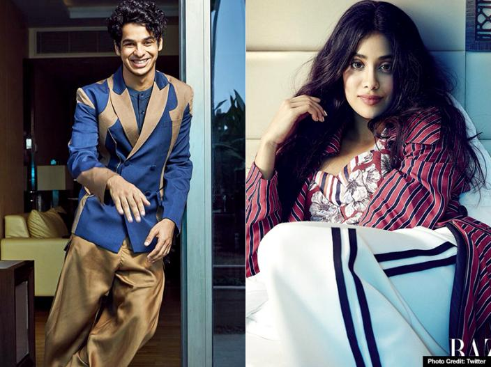 In Pics: Dhadak star Janhvi Kapoor and Ishaan Khattar at Harper's Bazaar cover page |