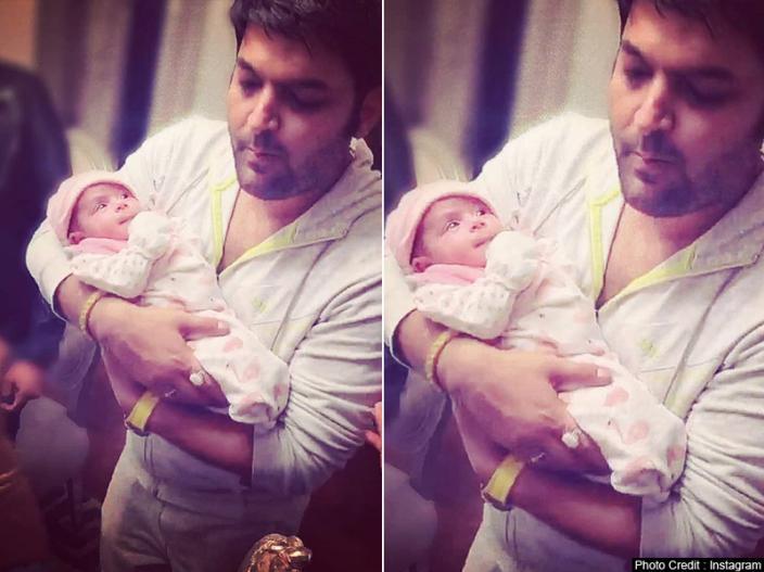 | kapil sharma daughter photos leaked in social media see kapil baby girl latest viral pics