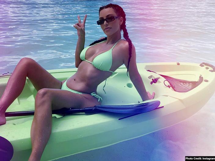 Bikini Photos: Kim Kardashian Share her Sensational and Sexy Pics on Instagram |
