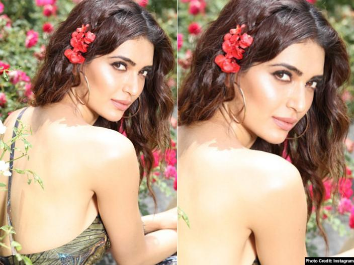 In Pics: Karishma Tanna look Revealed in Sanju, See her hot and Bold photos on Instagram |