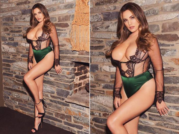 kelly brook share her topless photos with beau Jeremy Parisi, see her hot, bikini and sexy pics  