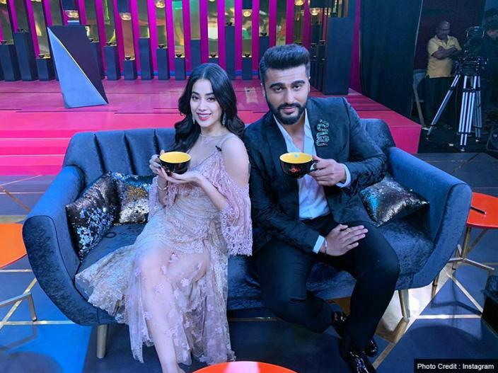 Koffee With Karan 6: Janhvi Kapoor Come With Step Brother Arjun Kapoor in karan johar's Show |