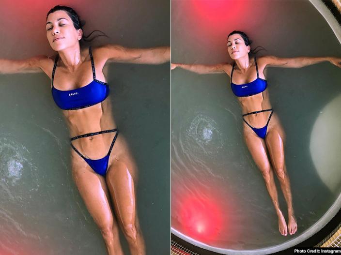 Kourtney Kardashian Share her Black Bikini and Hot Pics on Instagram |