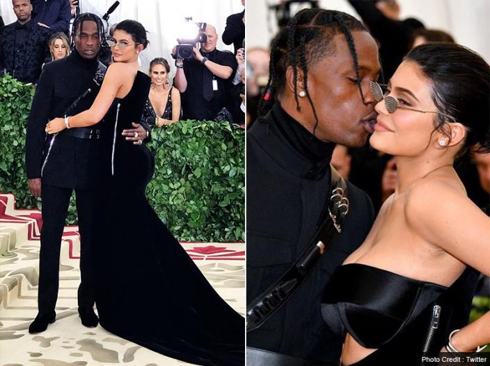 Kylie Jenner and TRAVIS SCOTT |