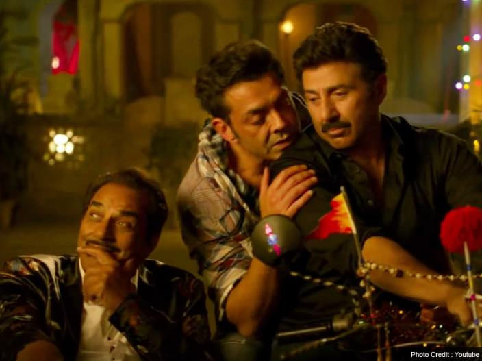 Yamla Pagla Deewana Phir Se first song Little Little released: See Dharmendra, Sunny Deol and Bobby Deol dance after drunk |