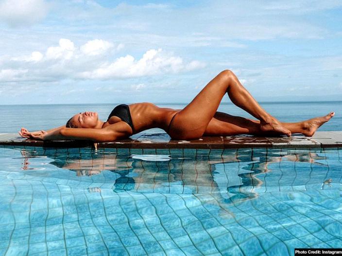 Madi Edwards shares her sexy bikini image |