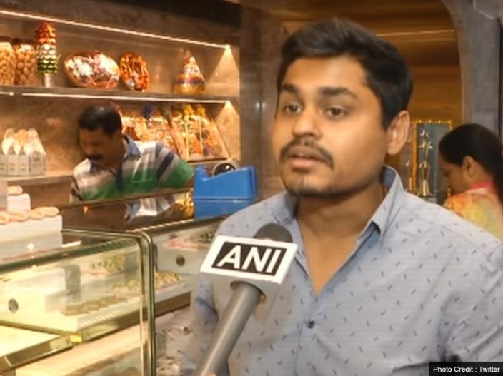 Photos: In Gujarat Shop sells Special sweets Name 24 Carats Mithai Magic at Rs 9000 per kg |