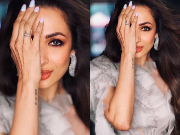 Photos: Malaika Arora Get Trolled For Her Sexy Dress share on Instagram |