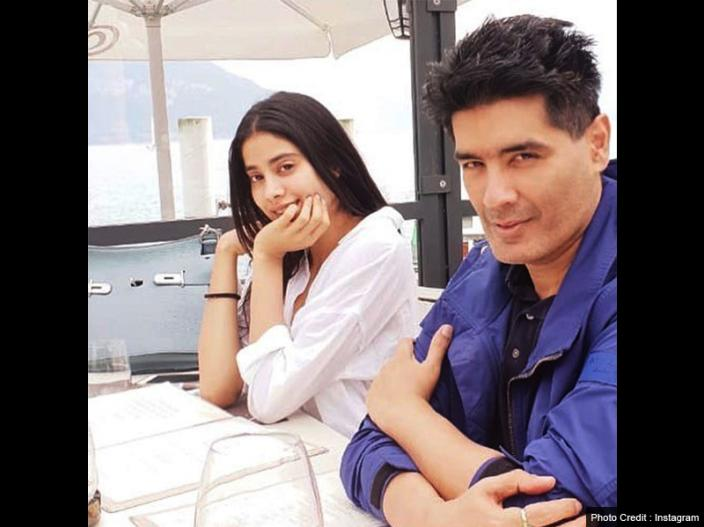 In Photos: Janhvi kapoor Enjoys holiday in Switzerland with famous fashion Designer Manish Malhotra |