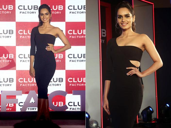 In Pics: miss world Manushi Chillar at the launch of Club Factory India's largest e Commerce Brand, view photos |