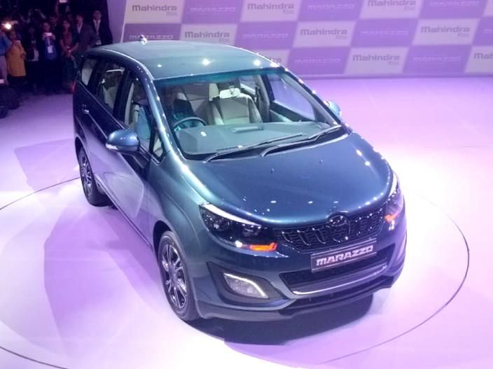 Photos: Mahindra Marazzo MPV Launched in India, ex-showroom price Start from 9.99 lakh |