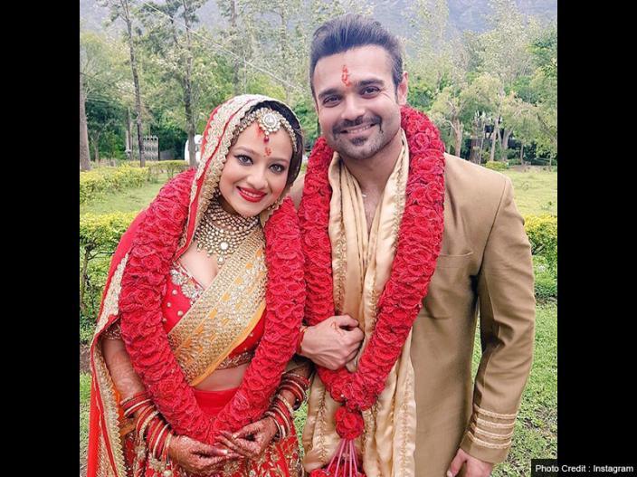 In Pics: Mithun chakraborty son mimoh chakraborty got married with madalasa pics goes viral on social media |