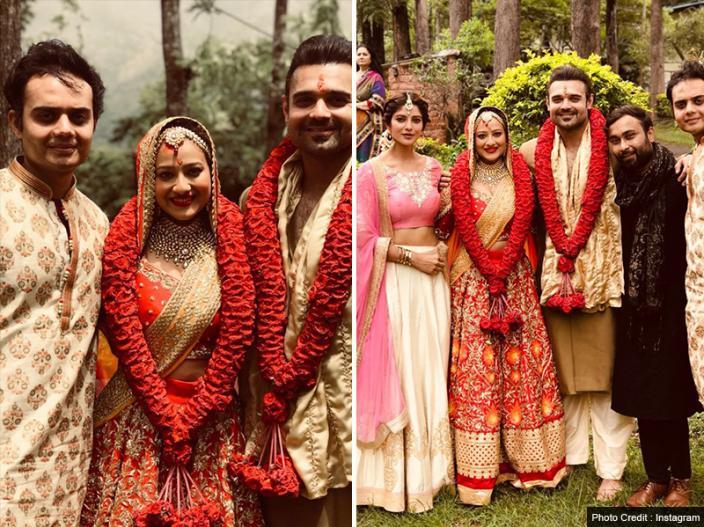 In Pics: Mithun chakraborty son mimoh chakraborty got married with madalasa pics goes viral on social media | Mithun chakraborty son mimoh chakraborty got married with madalasa pics goes viral on social media