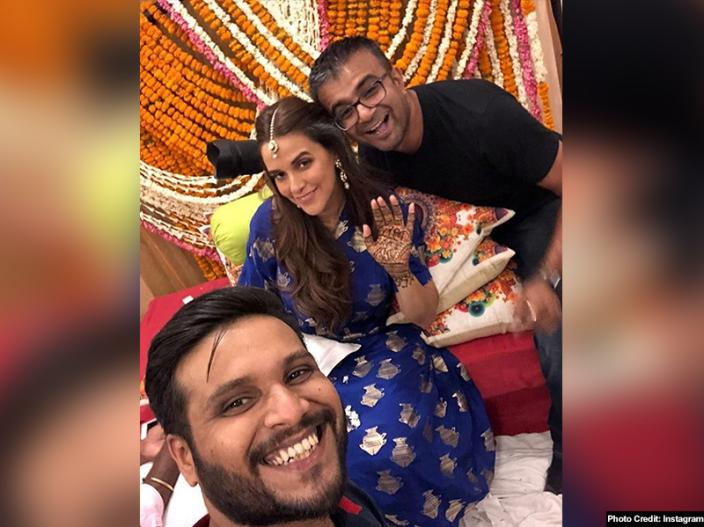 Neha Dhupia and Angad Bedi Ceremony, Marriage and honeymoon pics |