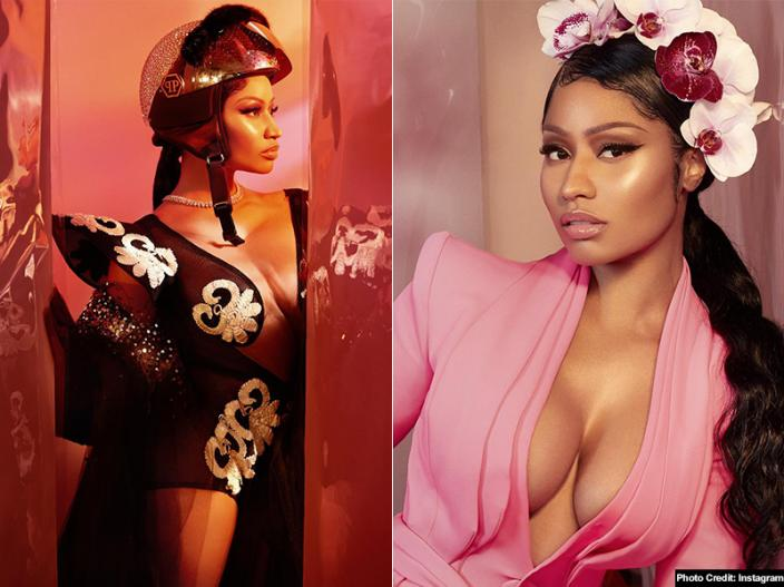 Nicki Minaj Traditional look Goes Viral On Social Media |
