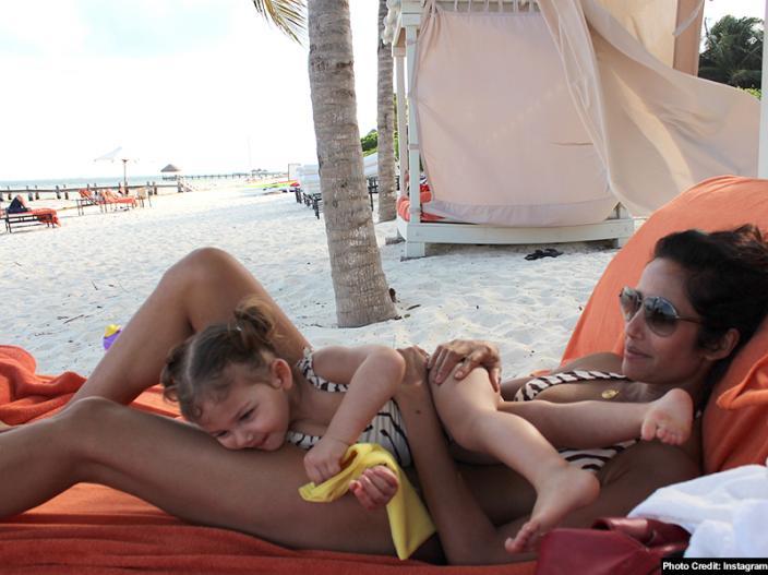 Padma Lakshmi raise temperature after share Bikini Pics on Instagram, See Photos, HD Images  