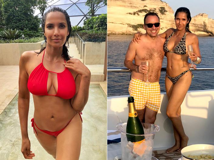 Boom Actress Padma Lakshmi Share her Bikini Photos on Instagram, Pics Goes viral |