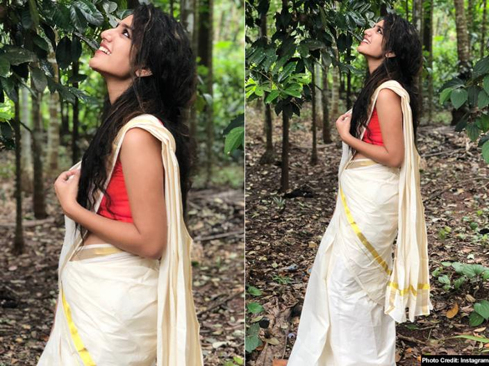 View Photos: Priya Prakash Varrier Bold Photoshoot in Red Dress Goes Viral on Instagram |