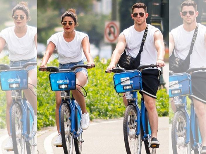 In Pics: Priyanka Chopra-Nick Jonas spotted together in New York streets |