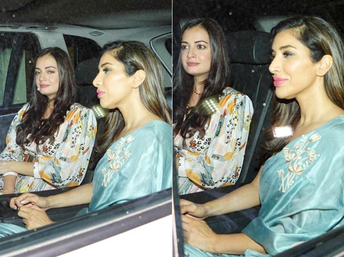 Sophie Choudry and dia mirza |