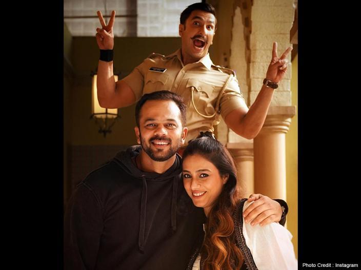 Simmba: Ranveer Singh still Busy in shooting, Tabu visit on set, photo leaked |