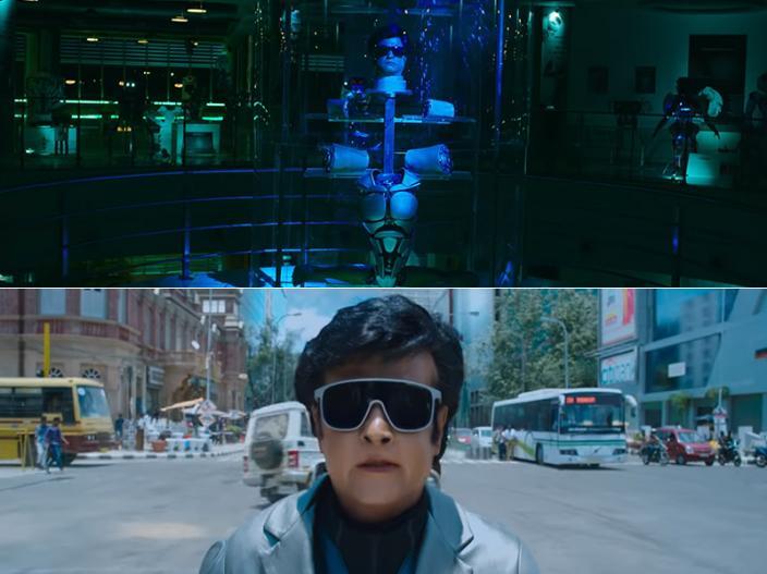 2.0 Teaser: Rajinikanth, Akshay Kumar, Amy Jackson, S Shankar India's most Awaited Film |