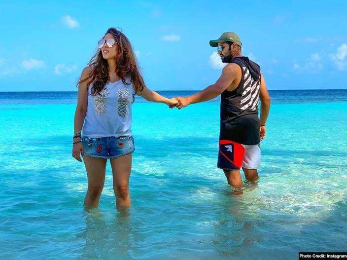Image result for rohit sharma maldives