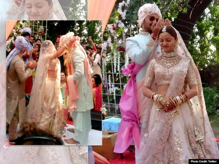 Rubina Dilaik & Abhinav Shukla Wedding Pics: Shakti Astitva