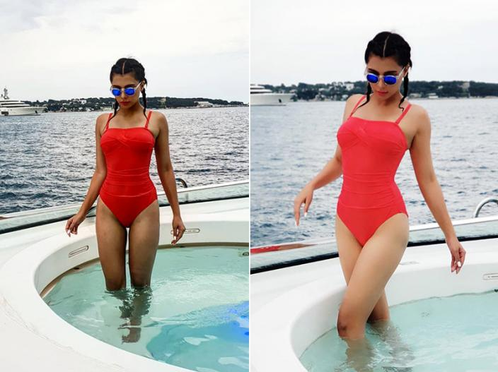 Ruhi Singh share her bold swimsuit pics on Instagram, Her hot and sexy pics goes viral |