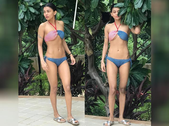 Ex bigg boss contestant and Splitsvilla 2 winner sakshi pradhan share bold bikini photos on instagram |