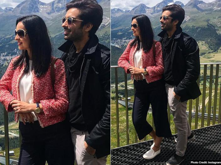 "Sanaya Irani and Mohit Sehgal Invites friends from Switzerland with viral dialogue ""Chai pee lo friends"" 