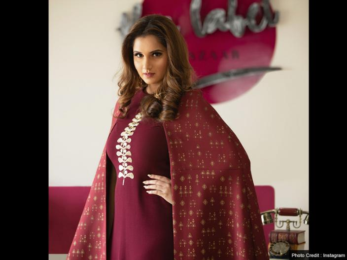 Photos: Sania Mirza flaunts her baby bump on the cover of fashion magazine |