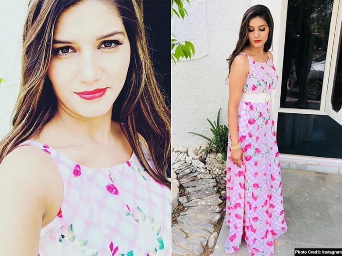 In Photos: Sapna Chaudhary Bold Dress Pics Goes Viral On Social Media  