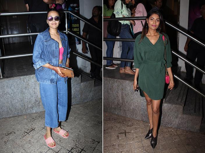 swara bhaskar and lopamudra raut |