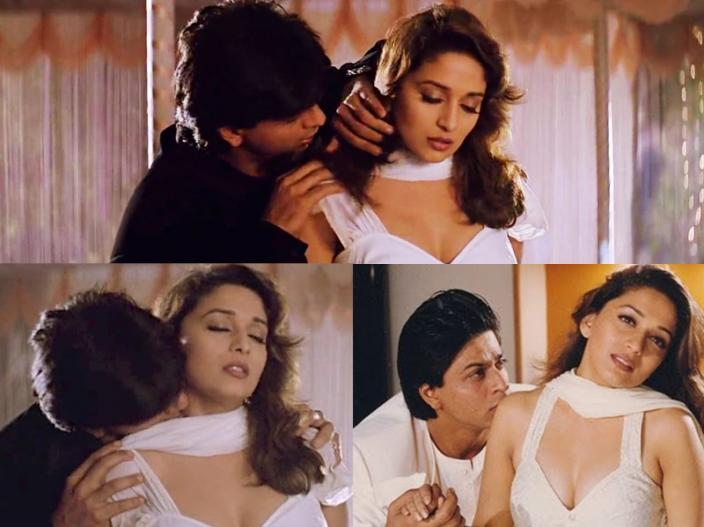madhuri dixit intimate hot scenes |