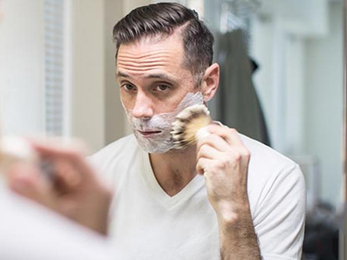 shaving cream |