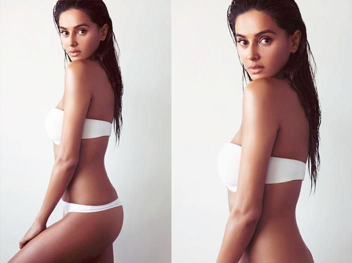 Shibani Dandekar share her white bikini photos on instagram, see her hot pics images |