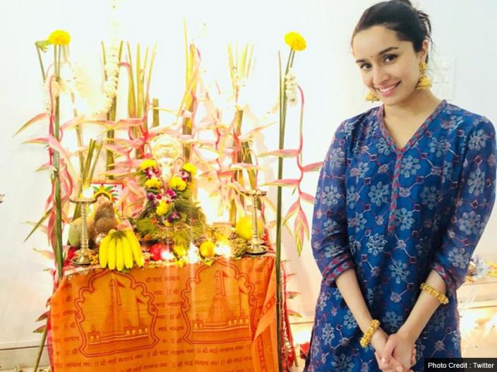 In Photos: Shraddha kapoor, Sonu Sood, manish Paul and other celebs bring ganpati at home |