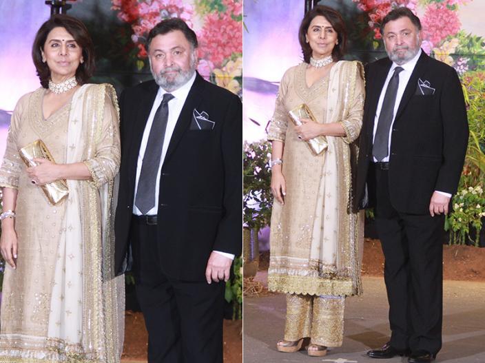 Rishi and Neetu Kapoor |