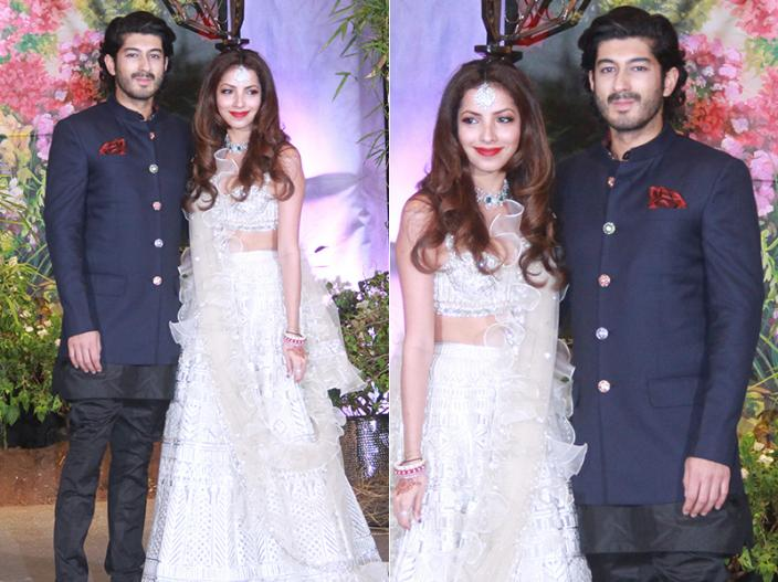 Mohit Marwah with wife Antara |