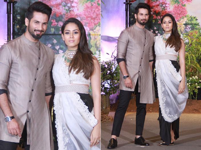Shahid and Mira Kapoor |